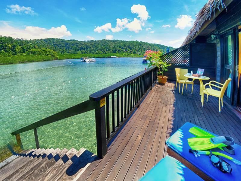 Gaya Island, Gayana Eco resort | Rama Tours
