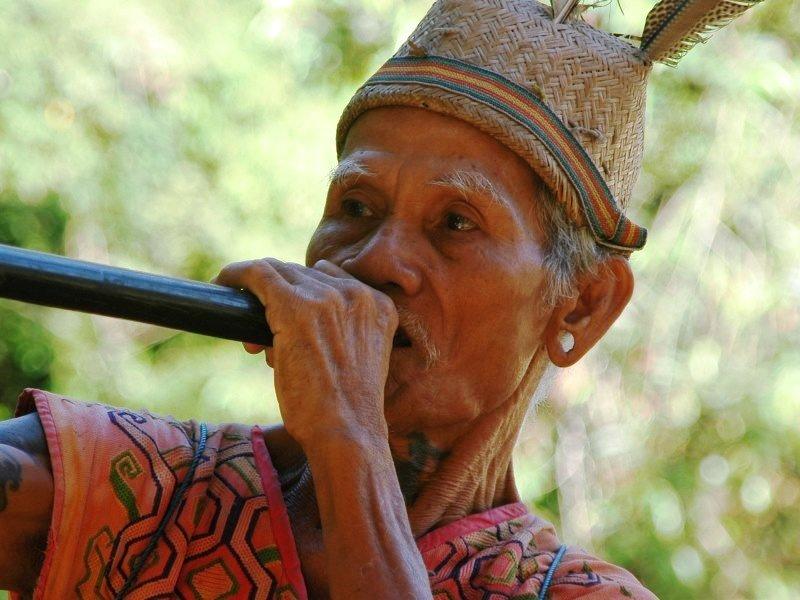 Inheemse Iban-stam | Rama Tours