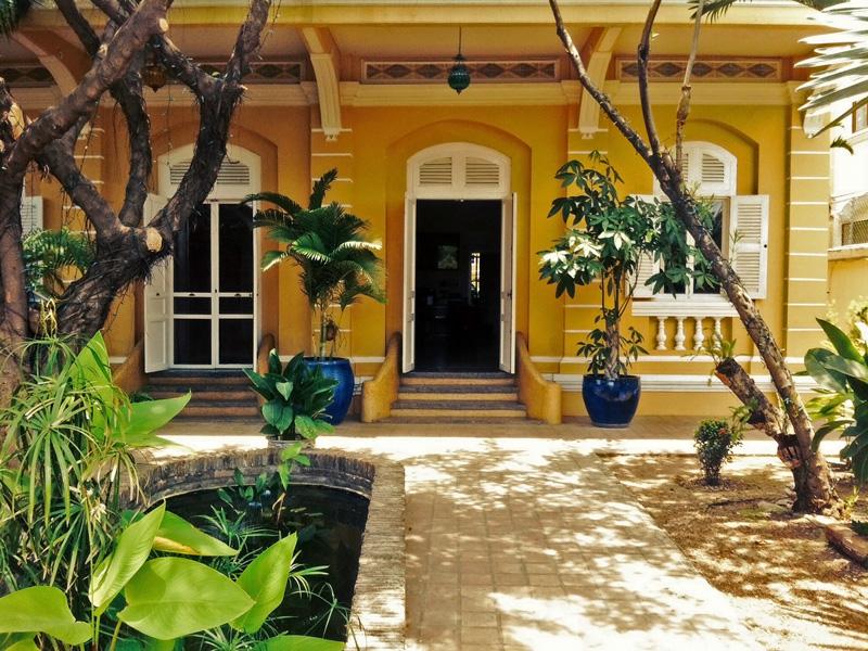 Battambang, La Villa   Rama Tours