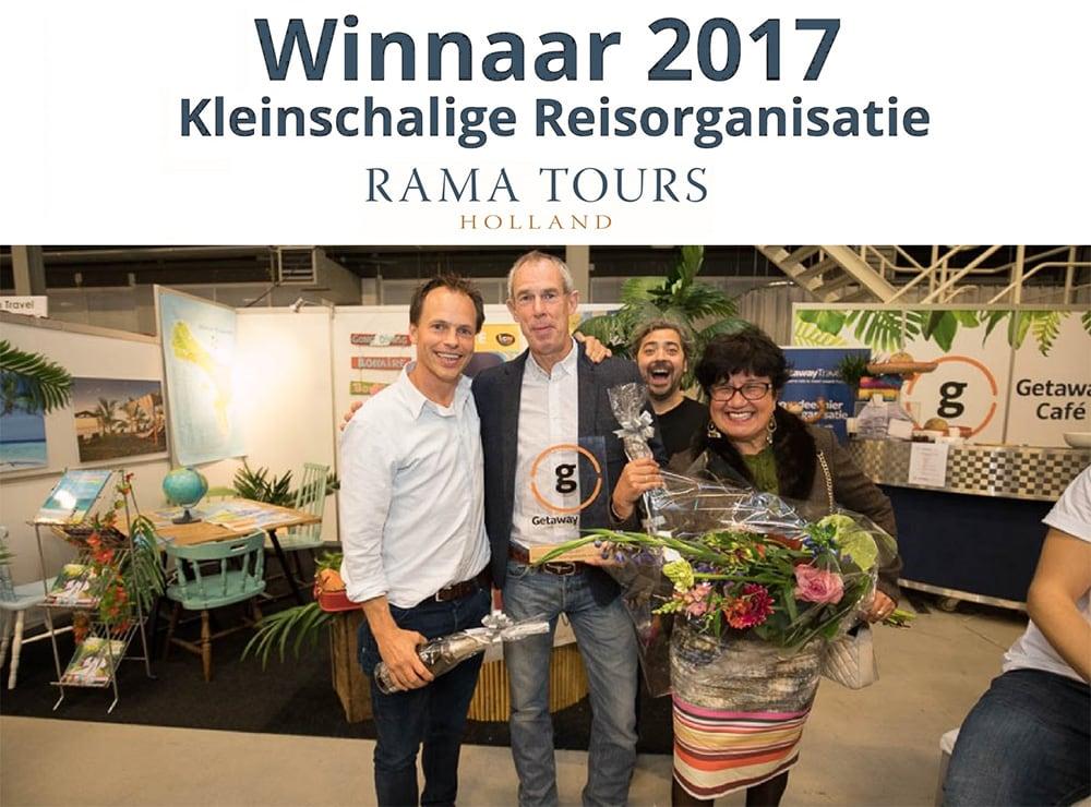 Rama Tours beste kleinschalige reisorganisatie van Nederland