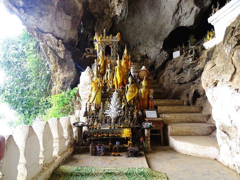 Grotten van Ban Pak-Ou in Laos